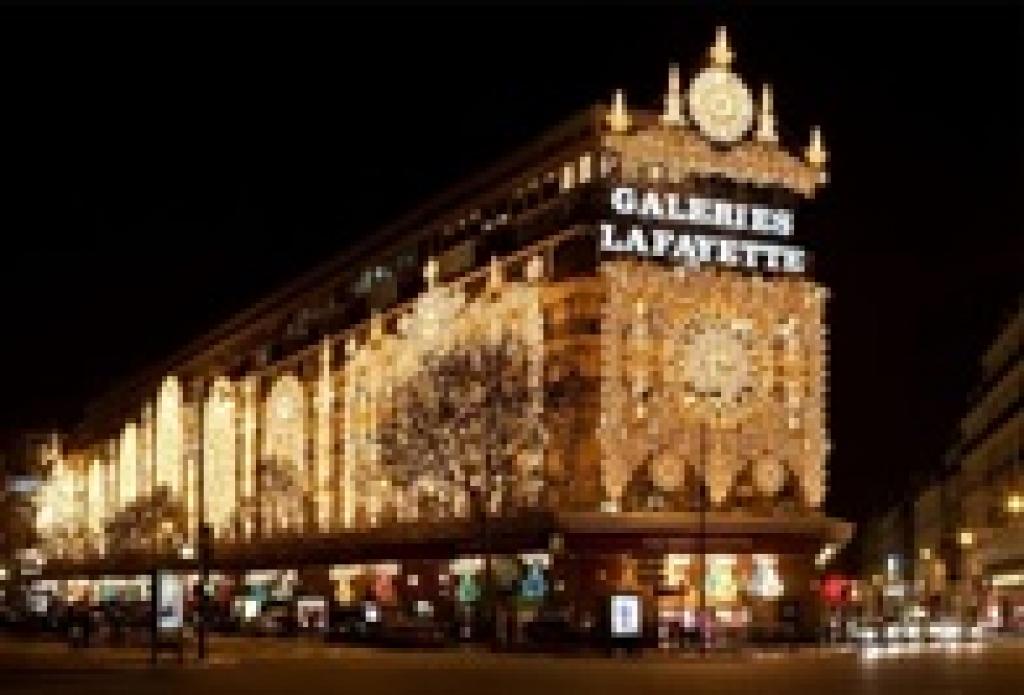 Sortie Galeries Lafayette