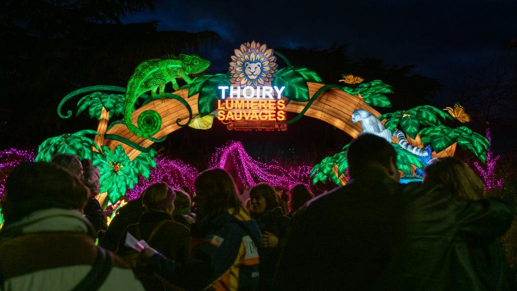 Zoo de Thoiry « Lumières sauvages »